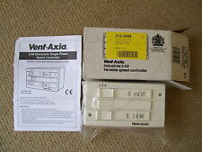 NEW Vent-Axia W10303102M Industrial 2.5A Variable Speed Fan Controller