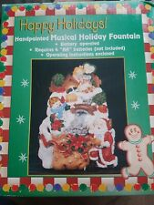 Musical Holiday fountain Christmas Decoration