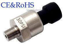 Pressure Transducer, Vacuum Pressure -14.5 to 30psi, Can Work for Boost Vaccume