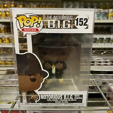 "Funko Pop Rocks : The Notorious B.I.G with Fedora #152 Vinyl ""Mint"" (In Stock)"