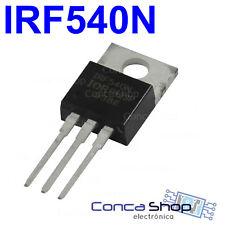 TRANSISTOR IRF540N MOSFET N Channel 100V 33A 130W TO220 - DESDE ESPAÑA