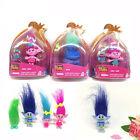 Cute Trolls Poppy Branch Harper DreamWorks Movie Figure 15cm Doll PVC Kids Gift