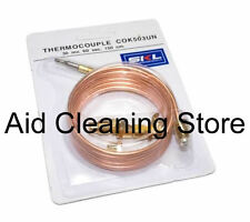 UNIVERSAL THERMOCOUPLE 900MM LONG WITH THREADED END GAS PILOT - FREE POSTAGE