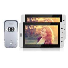 "7"" Color TFT Video DoorPhone Intercom Kit Touch Screen Doorbell Intercom Camera"