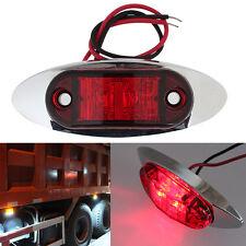 1x Red LED Side Marker Light Light Clearance For Truck Trailer Car Lamp FN128B