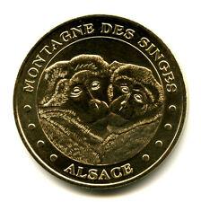 67 KINTZHEIM Montagne des singes 4, Deux singes, 2008, Monnaie de Paris