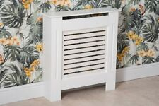 Yakoe Wooden MDF Wall Cabinet Radiator Cover - White