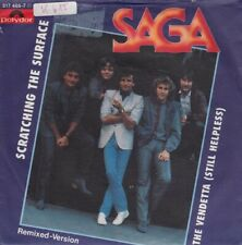 Vinyl Single: Saga - Scratching the surface / The vendetta K615