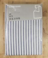 NEW Ikea Alvine Rand Blue & White Striped Twin Duvet Quilt Cover Pillowcase Set