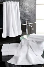 50x Waschlappen 30x30 cm Seiflappen Schlägertuch weiß Baumwolle Frottier *Hotel*
