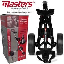 MASTERS 2018 5 SERIES STOW A CART LIGHTWEIGHT / COMPACT GOLF TROLLEY / BLACK