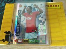 Nani silver limited edition champions league 2011/2012.