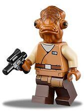 LEGO NEW Minifig Authentic Star Wars Admiral Ackbar (75140) SW719