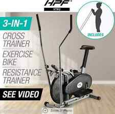 3in1 Elliptical Cross Trainer & Exercise Bike Home Gym Equipment Fitness AU