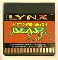 Atari Lynx - Shadow of the beast