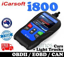 iCarsoft i800 Car Engine Fault Diagnostic Scanner Code Reader OBDII Scan Tool