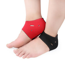 2Pcs Foot Heel Ankle Wrap Pad Plantar Fasciitis Therapy Pain Relief Arch Support