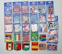 DIY Embroidered Sew On Patch Badge Clothes T shirt World Country London Souvenir
