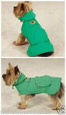 Zack & Zoey Flutter Bugs Stowaway Dog Puppy Raincoat Jacket XS SIZE