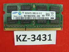 2gb Samsung ddr3 1333 MHz m471b5673fh0-ch9 204pin SODIMM pc3-10600s #kz-3431
