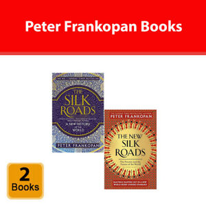Peter Frankopan 2 Books Collection Set New Silk Roads, Silk Roads Paperback NEW