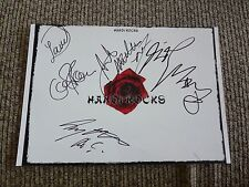 Hanoi Rocks Band Signed Autographed 8 x 11 Photos PSA Guaranteed #2