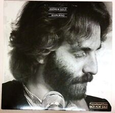 Andrew Gold (1980 White Label Promo LP Vinyl Cleaned Playtested 6E264) Whirlwind