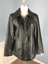 Calvin Klein Leather Solid Coats & Jackets for Women | eBay