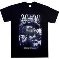 Mysticum Planet Satan Shirt S M L XL Official Tshirt Black Metal T-Shirt New