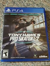 Tony Hawk Pro Skater 1 + 2 for PS4