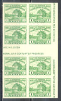 US Stamp (L174) Scott# 766, Mint NH, Imperf Horizontal Gutter Block of 8