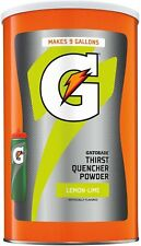 Gatorade Thirst Quencher Powder Lemon Lime 76.5 oz. Makes 9 Gallons TOP
