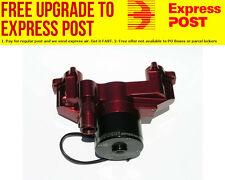 Meziere GM LS1 thru LS8 Electric Water Pump, Red Finish 35GPM, standard motor