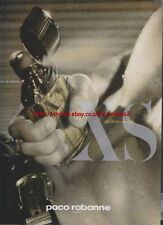 Paco Rabanne XS Excess Pour Homme 1995 Magazine Advert #2685