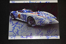25x Speed Racer cast signed autógrafo IP: Rain (Jung Ji-hoon), Sanada, Goodman