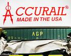 Accurail 6546 Rd 1016 AGP Agri-Grain Processors Pullman Standard Hopper Kit