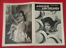 LA REINA DEL CHANTECLER 1962 SEXY SARITA MONTIEL MENDOZA GOL EXYU MOVIE PROGRAM