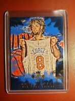 2015-16 NBA 🏀 PANINI COURT KINGS ROBIN LOPEZ NEW YORK KNICKS ( AWESOME CARD )..