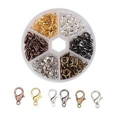 Clasps Jewelry Clasps BULK Clasps Assorted Clasps Lobster Parrot Clasps 240pcs