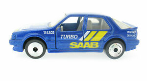 MATCHBOX LASERS LW-27 - Saab 9000 Turbo - Modellauto Car Laser Wheels