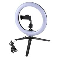 LED Light 10Inch Dimmable Selfie Lamp with Tripod Photography Camera Phone  M9V8