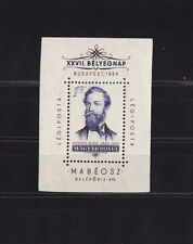 Hongrie  bloc  journée du timbre  1954  num: BF 30  **