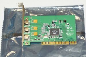 Adaptec AFW-4300 3-Port Firewire PCI Card with Cable