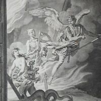 1754 Paradise Lost 3rd Edition Vol I ONLY 6 Engraved Plates JOHN MILTON Quarto