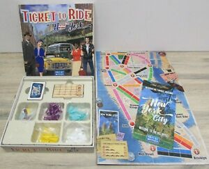 Days of Wonder Ticket To Ride New York Family Board Game Checked and Complete