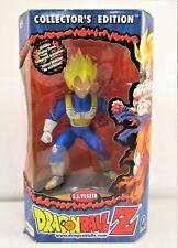 "S.S. Vegeta 9"" Figure MIB Dragon Ball Z Collector's Edition 2001 Irwin Toy"