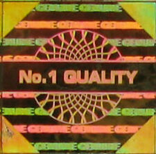 1000 Gold Holograma Seguridad calcomanías etiquetas holográficas Original 14mm s14-2g