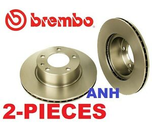 2-Pieces oem Brembo 25241 Front Disc Brake Rotors For BMW e28