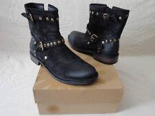 NEW UGG® Australia Fabrizia Studs Black Motorcycle Boots SZ 5 $275