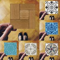 10Pcs Self Adhesive Tile Floor Wall Decal Sticker DIY Kitchen Bathroom Decor Hot